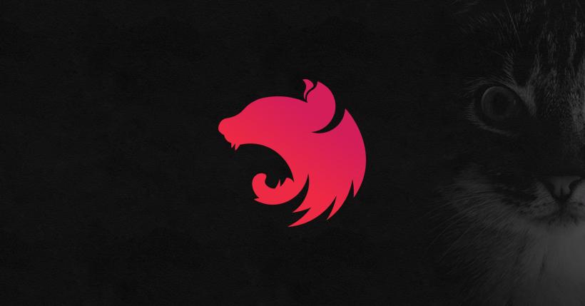 NestJS logo.
